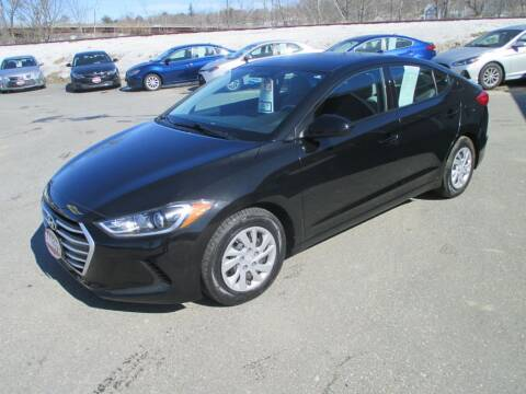 2017 Hyundai Elantra for sale at Percy Bailey Auto Sales Inc in Gardiner ME