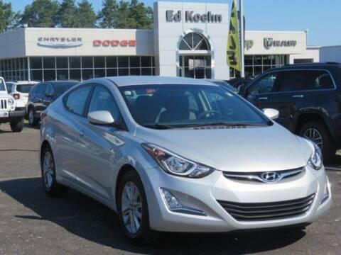 2015 Hyundai Elantra for sale at Ed Koehn Chevrolet in Rockford MI