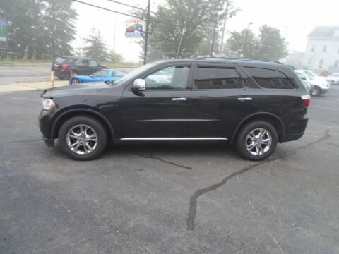 2012 Dodge Durango for sale at Gemini Auto Sales in Providence RI