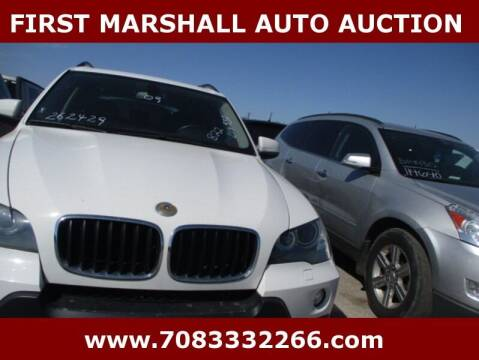 2009 BMW X5 for sale at First Marshall Auto Auction in Harvey IL