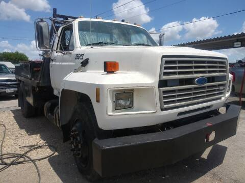 1986 Ford F-700 for sale at South Point Auto Sales in Buda TX