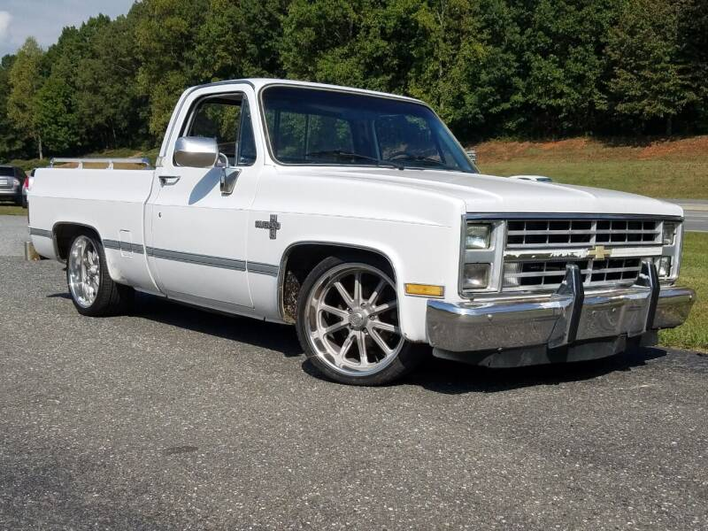 1987 Chevrolet R/V 10 Series for sale at JR's Auto Sales Inc. in Shelby NC