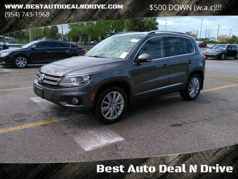 2013 Volkswagen Tiguan for sale at Best Auto Deal N Drive in Hollywood FL