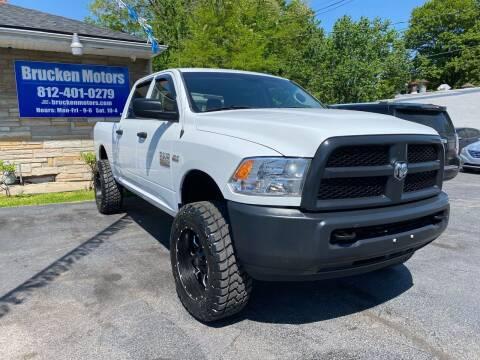 2017 RAM Ram Pickup 2500 for sale at Brucken Motors in Evansville IN