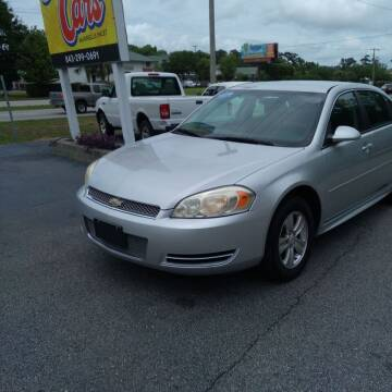 2013 Chevrolet Impala for sale at Auto Cars in Murrells Inlet SC