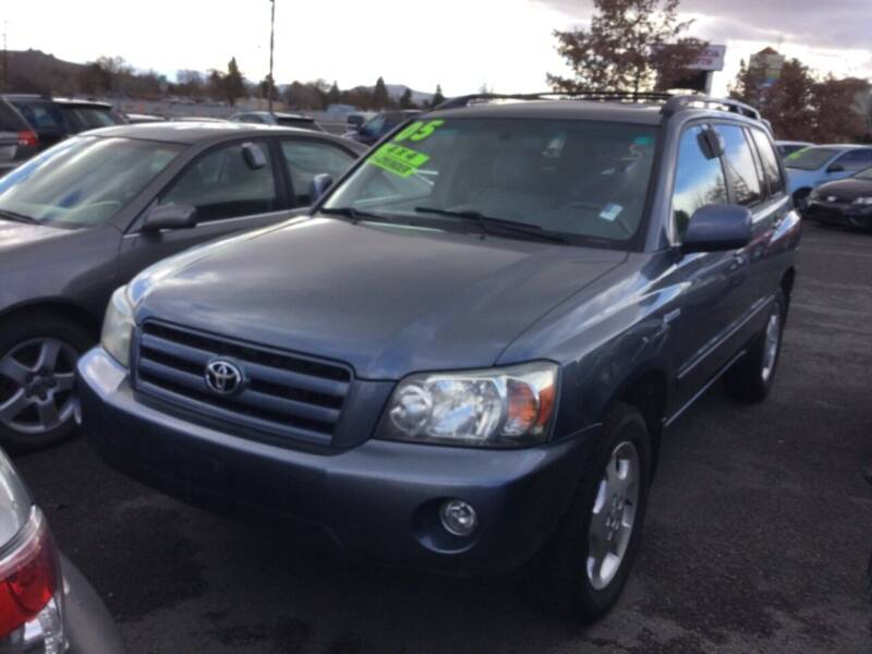 2005 Toyota Highlander for sale at Small Car Motors in Carson City NV