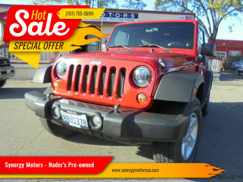 2010 Jeep Wrangler for sale at Synergy Motors - Nader's Pre-owned in Santa Rosa CA