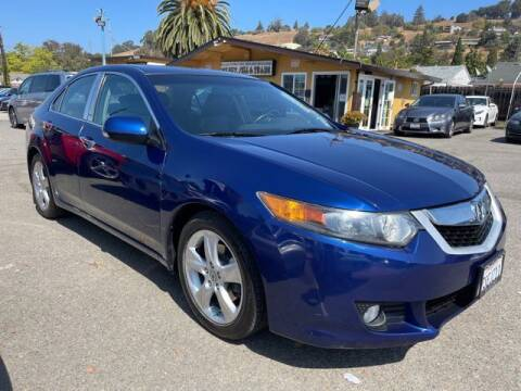 2009 Acura TSX for sale at MISSION AUTOS in Hayward CA