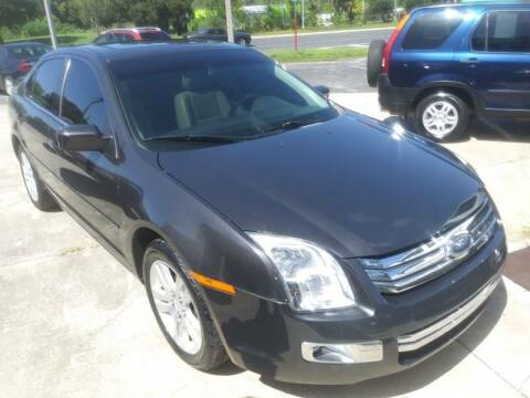 2007 Ford Fusion for sale at QUALITY AUTO SALES OF FLORIDA in New Port Richey FL