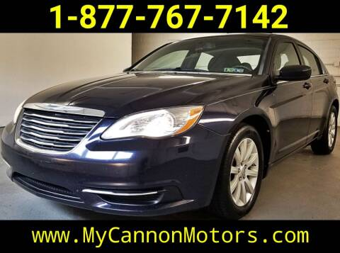 2012 Chrysler 200 for sale at Cannon Motors in Silverdale PA