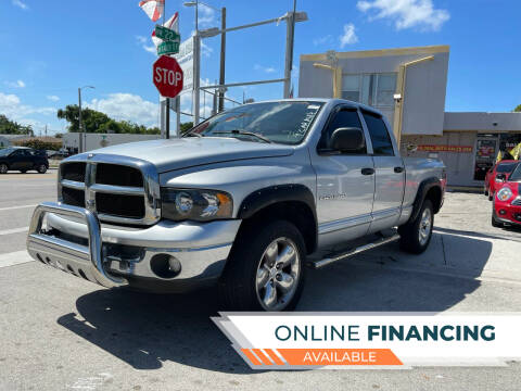2003 Dodge Ram Pickup 1500 for sale at Global Auto Sales USA in Miami FL