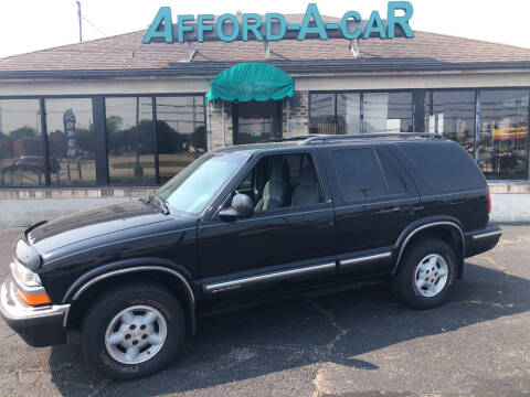 1998 Chevrolet Blazer for sale at Afford-A-Car in Moraine OH
