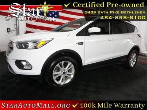 2018 Ford Escape for sale at STAR AUTO MALL 512 in Bethlehem PA