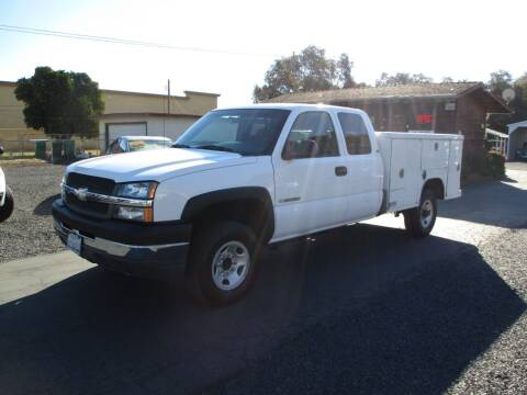 2003 Chevrolet Silverado 2500HD for sale at Manzanita Car Sales in Gridley CA