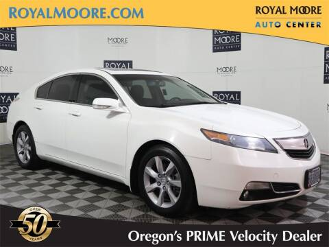 2012 Acura TL for sale at Royal Moore Custom Finance in Hillsboro OR