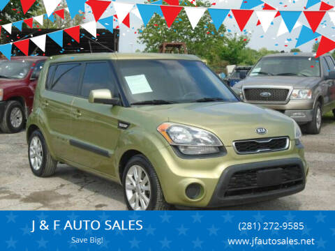 2012 Kia Soul for sale at J & F AUTO SALES in Houston TX