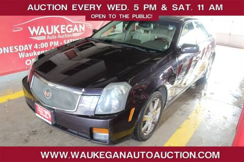 2006 Cadillac CTS for sale at Waukegan Auto Auction in Waukegan IL