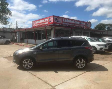 2015 Ford Escape for sale at LA Auto Sales in Monroe LA