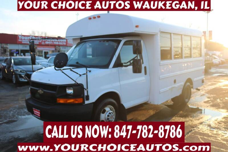 2011 Chevrolet Express Cutaway for sale at Your Choice Autos - Waukegan in Waukegan IL