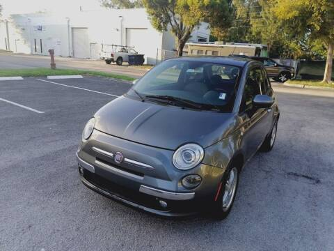 2012 FIAT 500 for sale at Best Price Car Dealer in Hallandale Beach FL