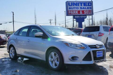 2014 Ford Focus for sale at United Auto Sales in Anchorage AK