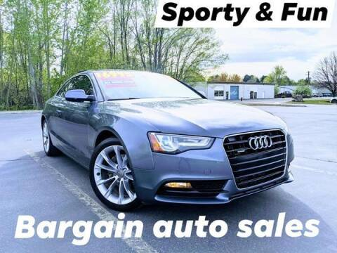 2014 Audi A5 for sale at Bargain Auto Sales LLC in Garden City ID