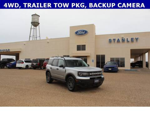 2021 Ford Bronco Sport for sale at STANLEY FORD ANDREWS in Andrews TX