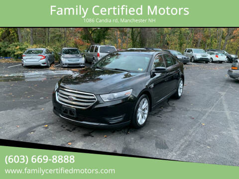 2013 Ford Taurus for sale at Family Certified Motors in Manchester NH