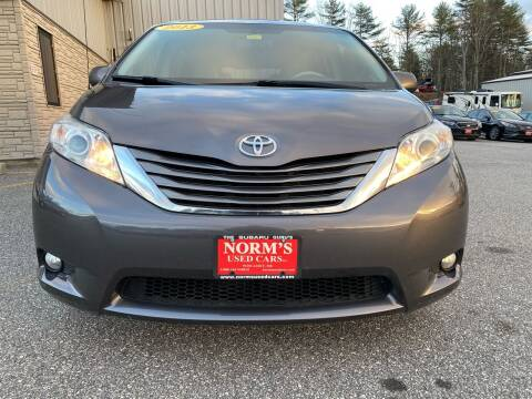 2013 Toyota Sienna for sale at NORM'S USED CARS INC - Trucks By Norm's in Wiscasset ME
