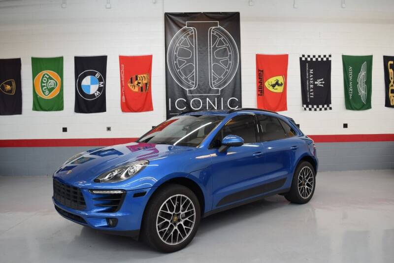 2015 Porsche Macan for sale at Iconic Auto Exchange in Concord NC