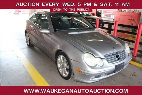 2004 Mercedes-Benz C-Class for sale at Waukegan Auto Auction in Waukegan IL