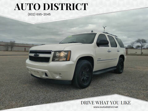 2010 Chevrolet Tahoe for sale at Auto District in Baytown TX
