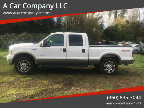 2006 Ford F-250 Super Duty for sale at A Car Company LLC in Washougal WA