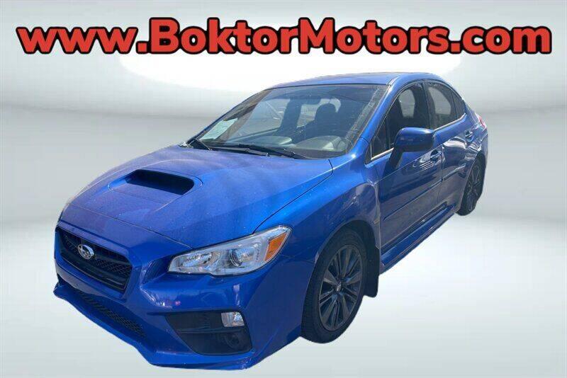 2017 Subaru WRX for sale at Boktor Motors in North Hollywood CA