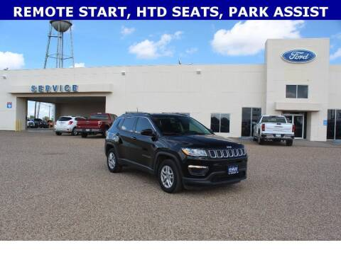 2020 Jeep Compass for sale at STANLEY FORD ANDREWS in Andrews TX