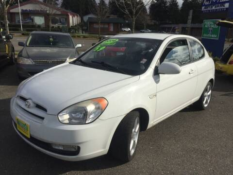 2008 Hyundai Accent for sale at Federal Way Auto Sales in Federal Way WA