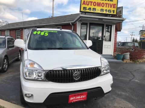 2006 Buick Rendezvous for sale at GLOBAL AUTOMOTIVE in Gages Lake IL