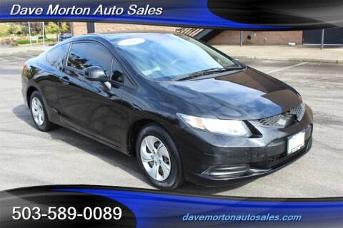 2013 Honda Civic for sale at Dave Morton Auto Sales in Salem OR