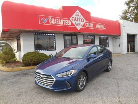 2017 Hyundai Elantra for sale at Oak Park Auto Sales in Oak Park MI