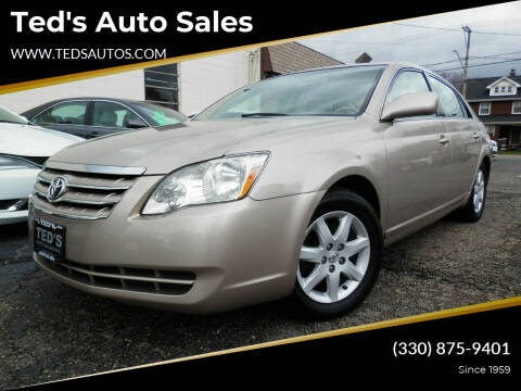 2007 Toyota Avalon for sale at Ted's Auto Sales in Louisville OH