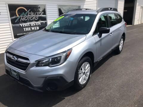 2018 Subaru Outback for sale at HILLTOP MOTORS INC in Caribou ME