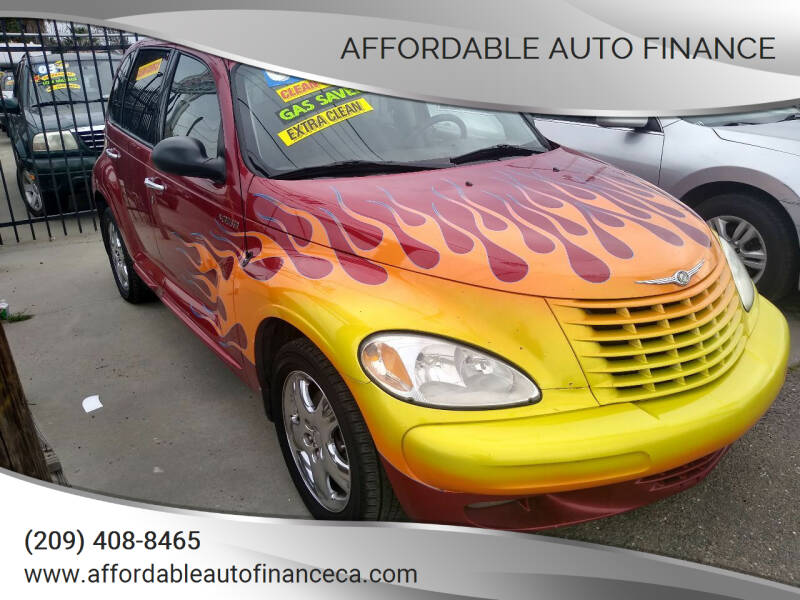 2002 Chrysler PT Cruiser for sale at Affordable Auto Finance in Modesto CA