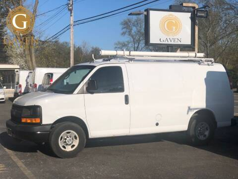 2013 Chevrolet Express Cargo for sale at Gaven Auto Group in Kenvil NJ
