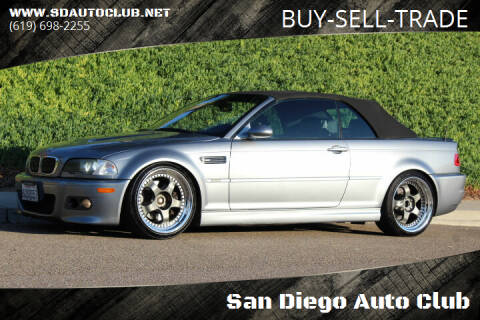 2006 BMW M3 for sale at San Diego Auto Club in Spring Valley CA