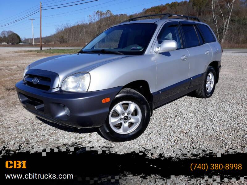 2006 Hyundai Santa Fe for sale at CBI in Logan OH