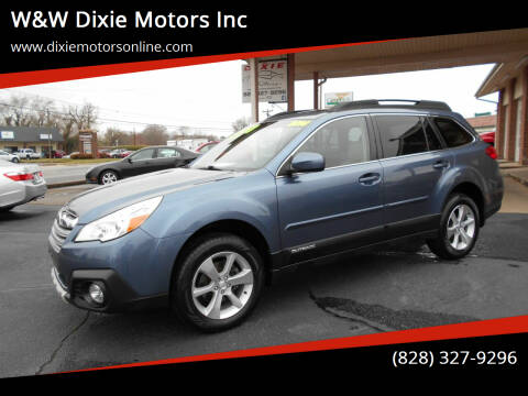 2014 Subaru Outback for sale at W&W Dixie Motors Inc in Hickory NC