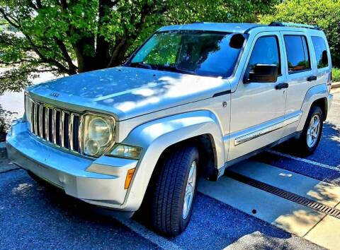 2012 Jeep Liberty for sale at Auto Wholesalers Of Rockville in Rockville MD