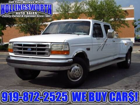 1995 Ford F-350 for sale at Hollingsworth Auto Sales in Raleigh NC
