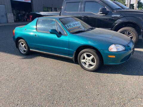 1995 Honda Civic del Sol for sale at 222 Newbury Motors in Peabody MA