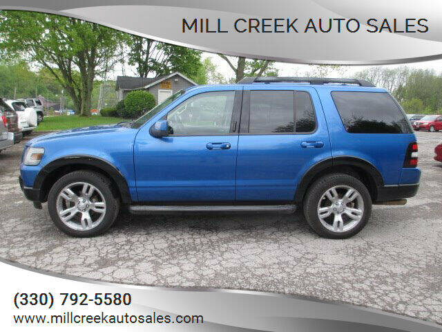 2010 Ford Explorer for sale at Mill Creek Auto Sales in Youngstown OH